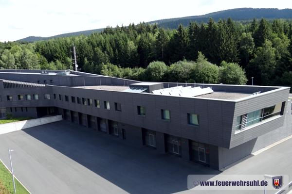 Feuerwache Berufsfeuerwehr Suhl Stadt/Tunnel