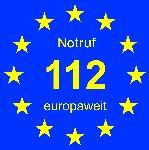 Notruf - europaweit!