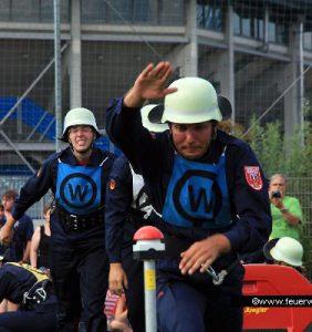 Wettkampfteam der Feuerwehr Suhl