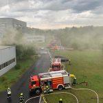 Brand einer Produktionsanlage_05